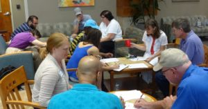 Bunco Night at the Huntsville Multiple Sclerosis Support Group
