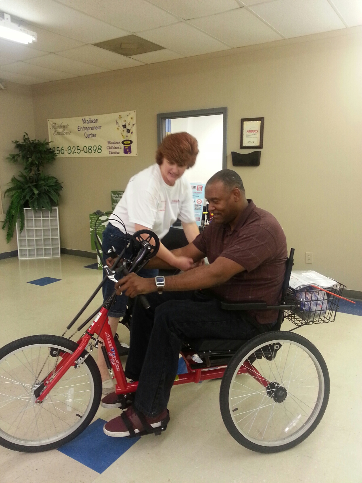 Adaptive Bikes for People with Limited Mobility
