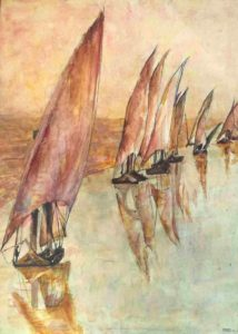 Cynthia Parsons Boats on the Nile